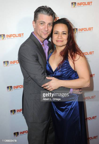 Jeremy Miller and wife Joanie Miller arrive for PreOscar Soiree Hosted By INFOListcom and Birthday Celebration for Founder Jeff Gund held at SkyBar...