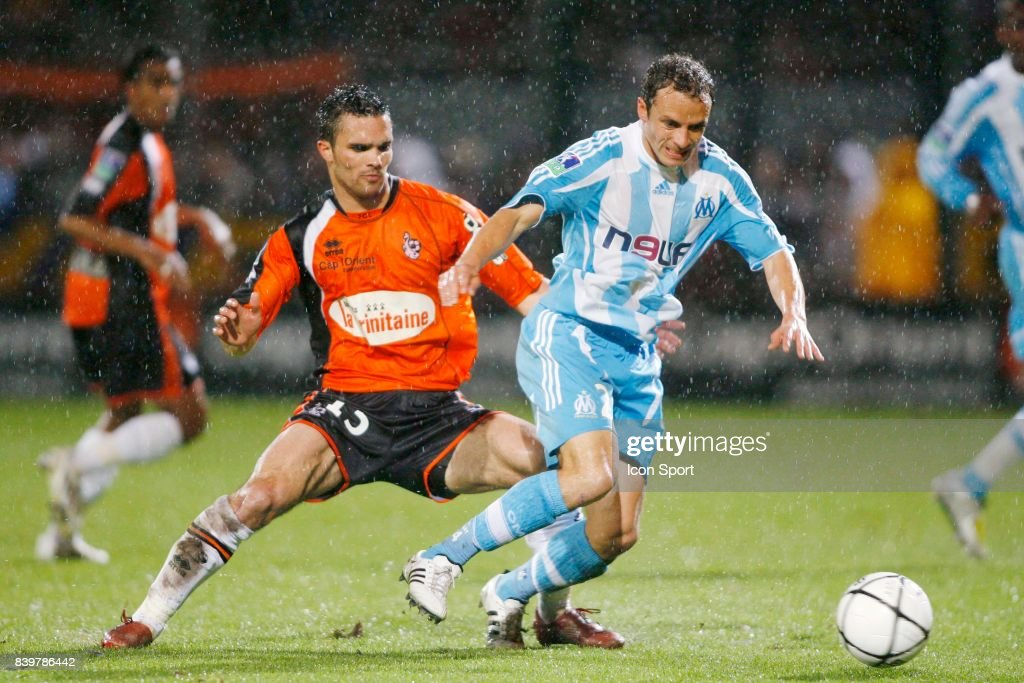 Jeremy MOREL / Laurent BONNART - - Lorient / Marseille - 31eme journee de Ligue 1,