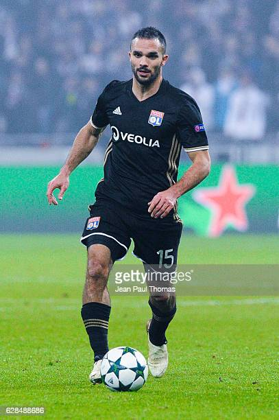 Jeremy MOREL of Lyon during the Champions League match between Lyon and Sevilla at Stade des Lumieres on December 7 2016 in DecinesCharpieu France