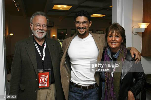 Jeremy Nessbum Mido Hamada and Beverley Camhe during 14th Annual Hamptons International Film Festival Rising Stars Brunch at Nick and Toni's...