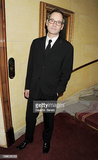 Jeremy Northam attends an after party celebrating the Gala Performance of Noel Coward's 'Hay Fever' at the Royal Horseguards Hotel on February 23...