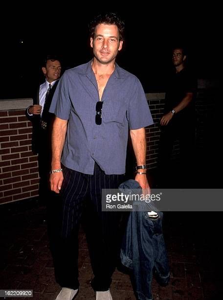 Jeremy Northam attends Party Celebrating Launch of Talk Magazine on August 2 1999 at Liberty Island in New York City