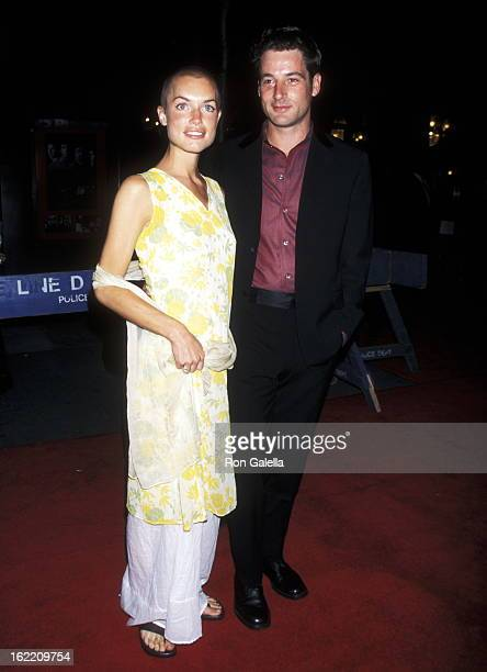 Jeremy Northam attends the premiere of 'Mimic' on August 19 1997 at the Ziegfeld Theater in New York City