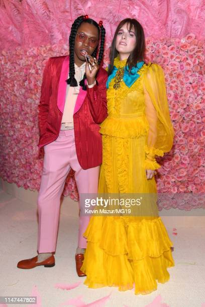 Jeremy O Harris and Hari Nef attend The 2019 Met Gala Celebrating Camp: Notes on Fashion at Metropolitan Museum of Art on May 06, 2019 in New York...
