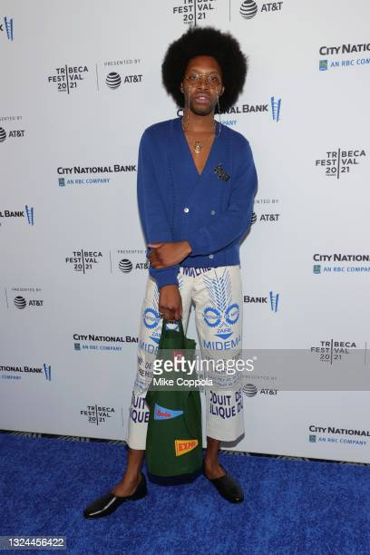 """Jeremy O. Harris attends the """"Untitled: Dave Chappelle Documentary"""" Premiere during the 2021 Tribeca Festival at Radio City Music Hall on June 19,..."""
