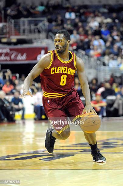 Jeremy Pargo of the Cleveland Cavaliers handles the ball against the Washington Wizards at the Verizon Center on December 26 2012 in Washington DC...