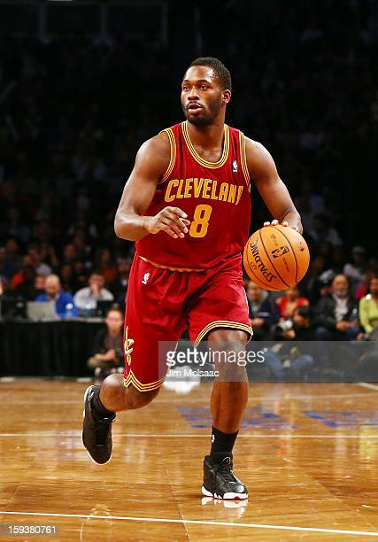 Jeremy Pargo of the Cleveland Cavaliers in action against the Brooklyn Nets at Barclays Center on December 29 2012 in the Brooklyn borough of New...