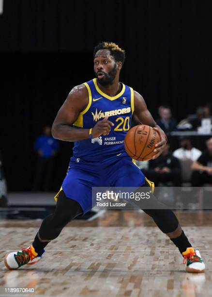 Jeremy Pargo of the Santa Cruz Warriors handles the ball against the Raptors 905 during the NBA G League Winter Showcase at Mandalay Bay Events...