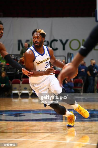 Jeremy Pargo of the Santa Cruz Warriors handles the ball against the Iowa Wolves in an NBA GLeague game on January 15 2020 at the Wells Fargo Arena...