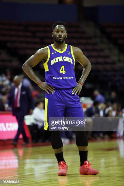 Jeremy Pargo of the Santa Cruz Warriors looks on against Memphis Hustle during an NBA GLeague game on March 10 2018 at Landers Center in Southaven...