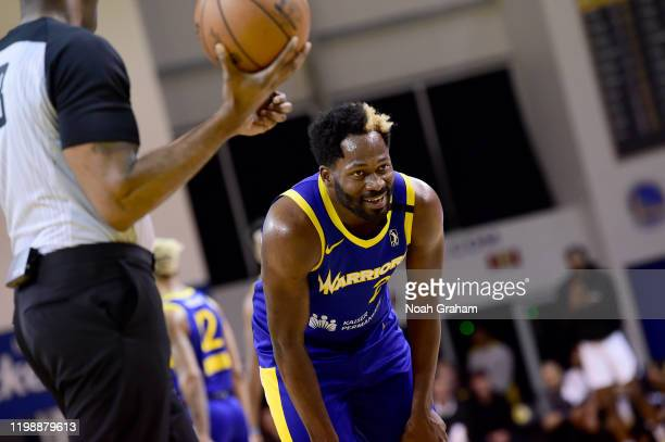 Jeremy Pargo of the Santa Cruz Warriors smiles after he dunked against the Salt Lake City Stars during an NBA GLeague game on February 5 2020 at the...