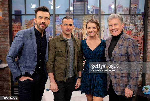 Jeremy Parsons Callahan Walsh Andrea Boehlke and John Walsh visit People Now on January 14 2020 in New York United States