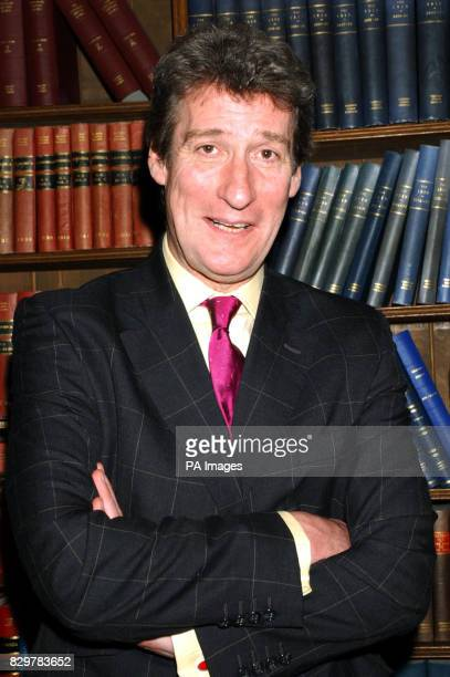 Jeremy Paxman at Oxford University prior to the debate 'This house believes that the class system is the backbone of British Society'