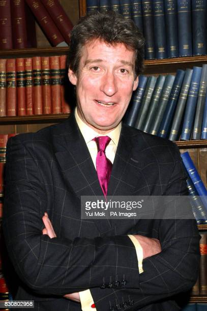 Jeremy Paxman at the Oxford Union Oxford University prior to the debate 'This house believes that the class system is the backbone of British Society'