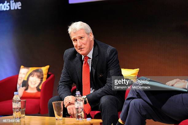 Jeremy Paxman during The Business of News John Witherow in Conversation with Jeremy Paxman as part of Advertising Week Europe Picadilly on March 23...