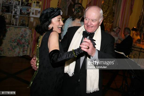 Jeremy Peterson and John McEnroe Sr attend Portrait artist ZITA DAVISSON's Great Gatsby Party A Roaring 20's Evening at Private Residence on October...