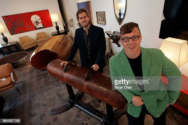 Jeremy Petty left and Thomas Hayes of Noho Modern They have relocated their North Hollywood 20th century furniture gallery to a prime spot at 750...
