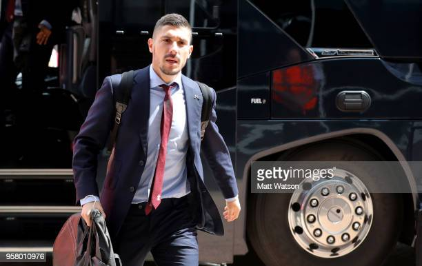 Jeremy Pied of Southampton ahead of the Premier League match between Southampton and Manchester City at St Mary's Stadium on May 13 2018 in...