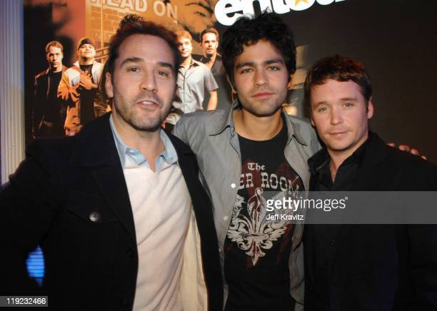 Jeremy Piven Adrian Grenier and Kevin Connolly *Exclusive*