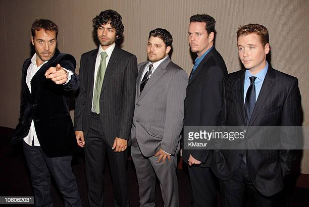 Jeremy Piven, Adrian Grenier, Jerry Ferrara, Kevin Dillon and Kevin Connolly