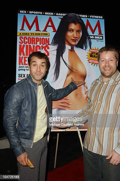 Jeremy Piven and Andy Clerkson Maxim General Manager