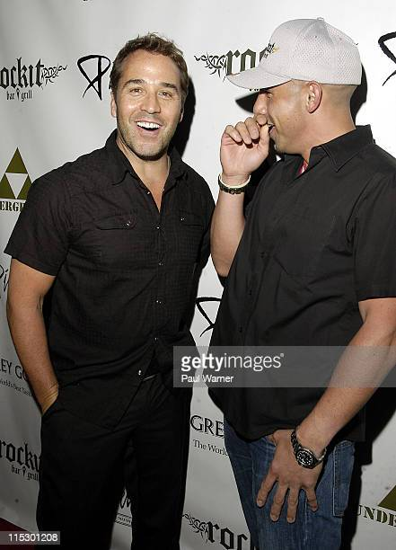 Jeremy Piven and Billy Dec attend the 2009 Piven Theatre Workshop Benefit at Rockit Bar & Grill on June 20, 2009 in Chicago, Illinois.