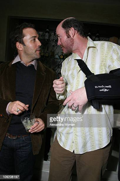 Jeremy Piven and David Koechner at Paramount Vantage International and Overture Films AFM Party held at Tengu on November 1 2007 in Santa Monica...