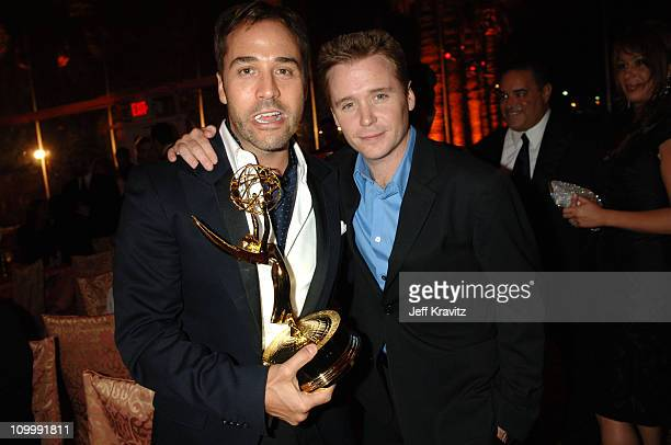 Jeremy Piven and Kevin Connolly during 58th Annual Primetime Emmy Awards HBO After Party at Pacific Design Center in Los Angeles California United...