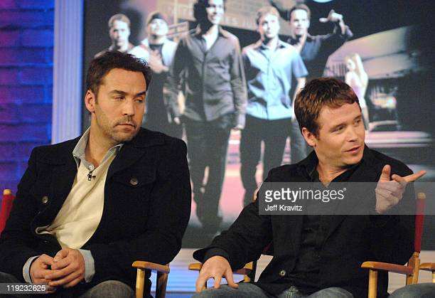 Jeremy Piven and Kevin Connolly during HBO's 13th Annual U.S. Comedy Arts Festival - Entourage: Behind the Scenes - Panel at St. Regis Hotel in...