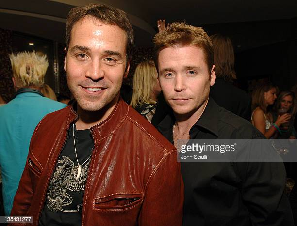 Jeremy Piven and Kevin Connolly during Palms Casino Resort 1st Annual Fantasy Suite Block Party at Palms Hotel in Las Vegas Nevada United States