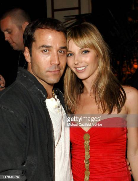 Jeremy Piven and Rachel Perry during Maxim Magazine's Hot 100 Inside at The Day After in Hollywood California United States