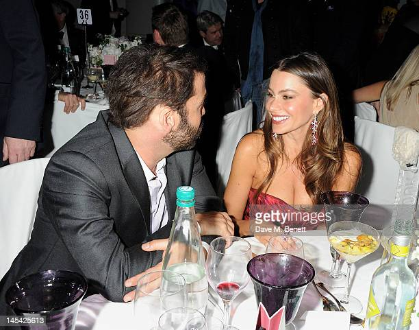 Jeremy Piven and Sofia Vergara attend an after party following the Glamour Women of the Year Awards in association with Pandora at Berkeley Square...