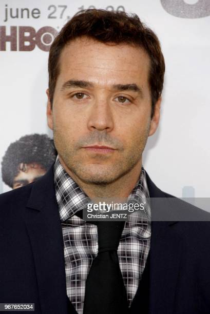 Jeremy Piven at the HBO's Season 7 Premiere of 'Entourage' held at the Paramount Pictures Studios in Hollywood USA on June 16 2010