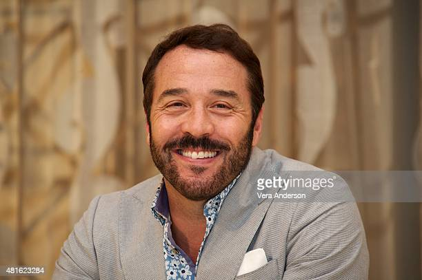 Jeremy Piven at the Mr Selfridge On Location Set Visit on July 21 2015 in London England