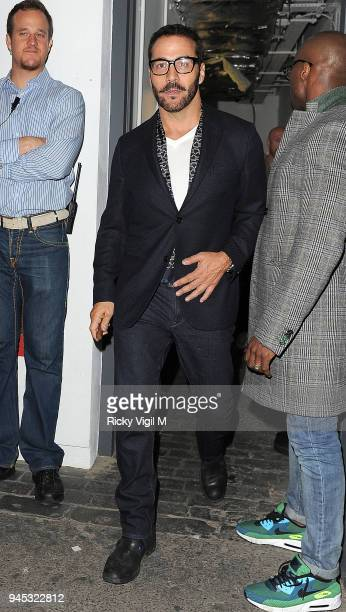 Jeremy Piven attends Nick Grimshaw's birthday celebration at Shoreditch House on August 16 2014 in London England