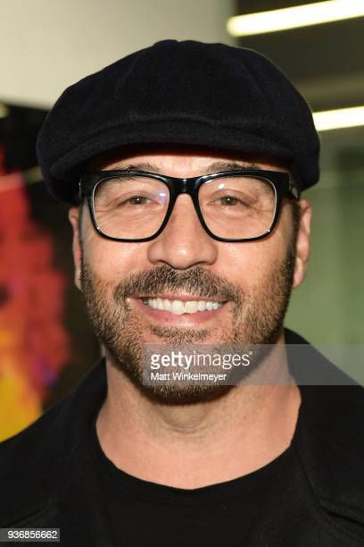 Jeremy Piven attends the Life Art Festival Presents Westweek 2018 Emulsion Art Exhibition Reception on March 22 2018 in West Hollywood California