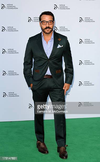 Jeremy Piven attends the Novak Djokovic Foundation London gala dinner at The Roundhouse on July 8 2013 in London England