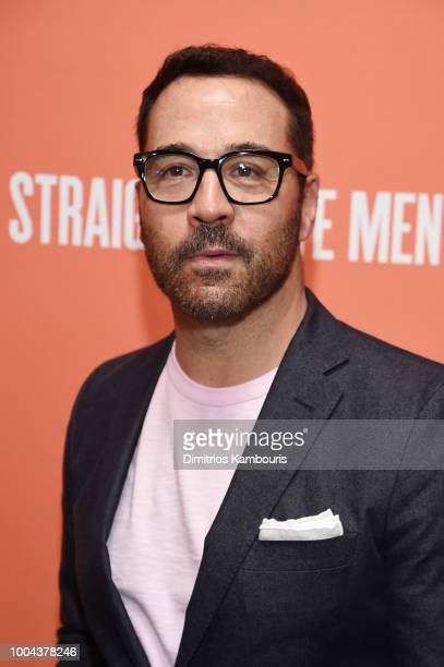 Jeremy Piven attends the opening night of 'Straight White Men' at Hayes Theater on July 23 2018 in New York City