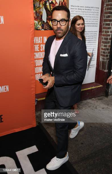 Jeremy Piven attends the Opening Night Performance of 'Straight White Men' at the Hayes Theatre on July 23 2018 in New York City