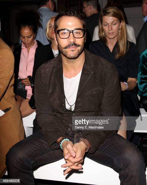 Jeremy Piven attends the Pringle Of Scotland show during London Fashion Week Spring Summer 2015 at on September 14, 2014 in London, England.