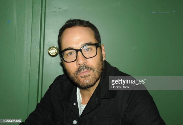 Jeremy Piven backstage at The Stress Factory Comedy Club on September 14 2018 in New Brunswick New Jersey