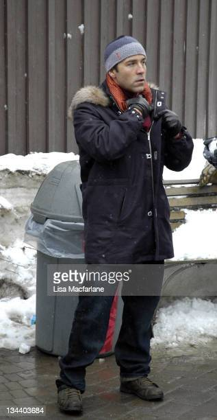 Jeremy Piven during 2005 Sundance Film Festival Taping of Entourage January 27 2005 at Main Street in Park City Utah United States