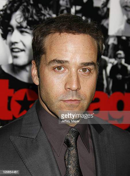 Jeremy Piven during Entourage Third Season Premiere Arrivals at The Cinerama Dome in Hollywood California United States