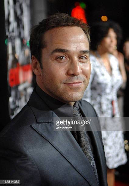 """Jeremy Piven during """"Entourage"""" Third Season Premiere in Los Angeles - Red Carpet at The Cinerama Dome in Los Angeles, California, United States."""