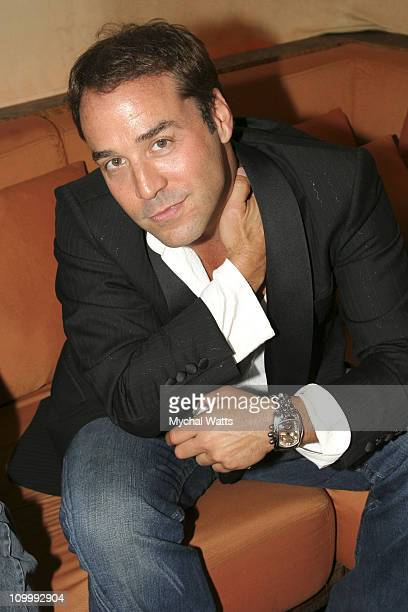Jeremy Piven during Hamptons Magazine Hugs It Out with Emmy Nominated Jeremy Piven at Cain in New York City New York United States