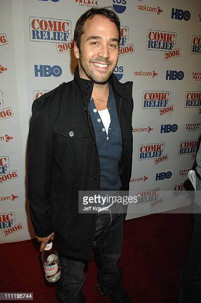 Jeremy Piven during HBO AEG Live's The Comedy Festival Comic Relief 2006 Red Carpet at Caesars Palace in Las Vegas Nevada United States