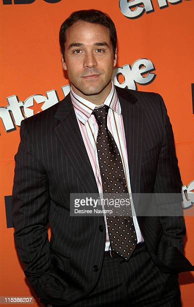 Jeremy Piven during HBO's Entourage Season 2 New York City Premiere Arrivals at The Tent at Lincoln Center in New York City New York United States