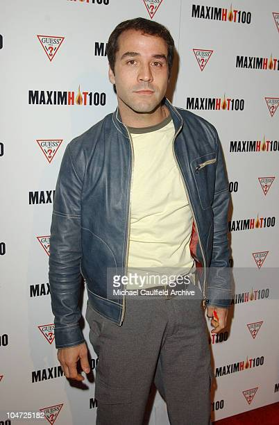Jeremy Piven during Maxim Hot 100 Party Arrivals at Yamashiro in Hollywood California United States