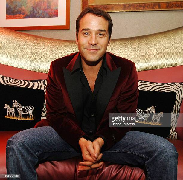 "Jeremy Piven during ""Two for the Money"" Las Vegas Premiere - Pre-Party at The Brenden Celebrity Suite at Brenden Celebrity Suite in Las Vegas,..."