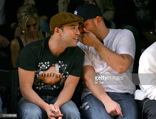 Jeremy Piven front row at Monarchy Collection Fall 2007